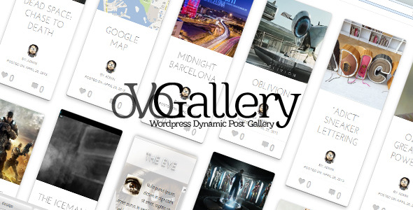 ✅ oVoGallery – WordPress Dynamic Post Gallery Nulled