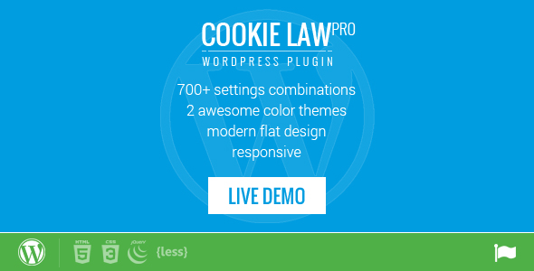 ✅ Responsive Cookie Law Consent Notification WordPress Plugin GDPR Compliance Nulled