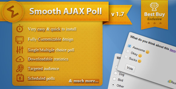 ✨Smooth Ajax Poll Nulled