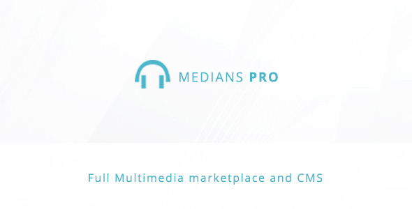 ✅ Medians PRO – Multimedia marketplace and  CMS Nulled