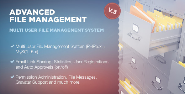 ✨Advanced File Management Nulled
