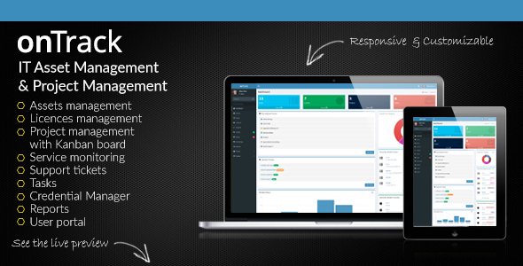 ✅ onTrack – IT Asset Management & Project Management Nulled