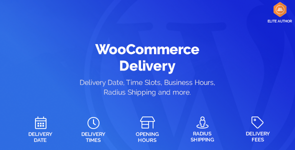 ✅ WooCommerce Delivery —Delivery Date & Time Slots Nulled