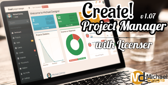 ✌Create – Freelancer Project Manager with Licenser Nulled