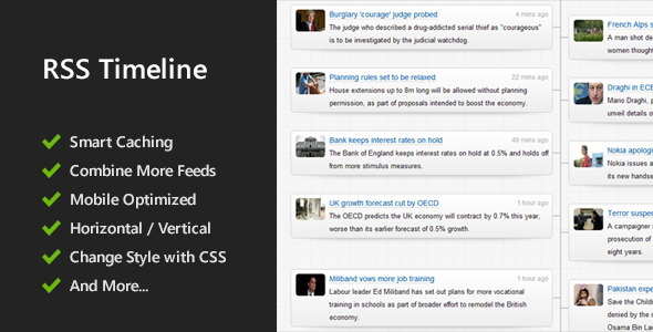 ✅ Responsive RSS Timeline Nulled