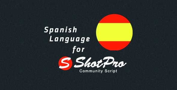 ✅ Spanish Language for ShotPro Commnunity Script Nulled
