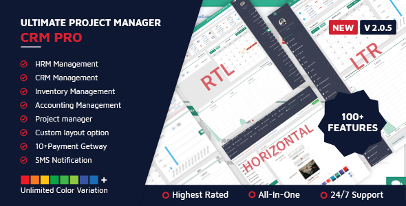 ✌Ultimate Project Manager CRM PRO Nulled