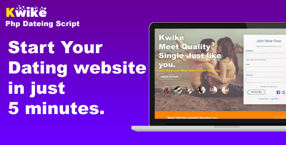 ✅ Kwike – Dating Website Php Script Nulled