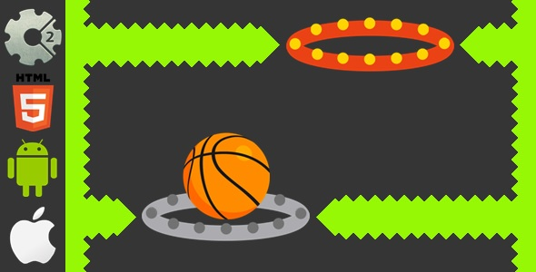 ✨Dunk Hoop – HTML5 Game + Mobile Version! (Construct-2 CAPX) Nulled