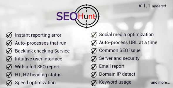 ✨seo hunt Nulled