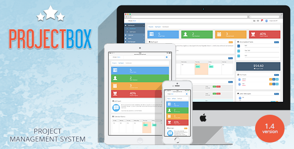✨Project Box – Team Management Tool Nulled