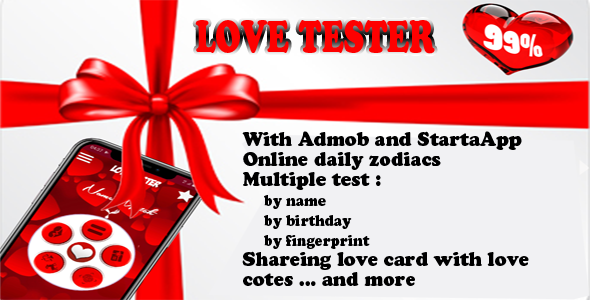 ✨love tester and daily zodiacs Nulled