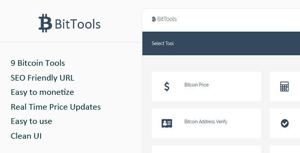 ✨BitTools – Bitcoin Tools Nulled