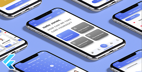 ✅ Healer – Flutter Native App Template Nulled
