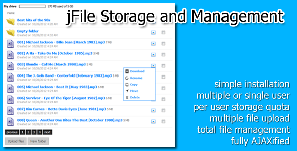 ✅ jFile Storage and Management Nulled