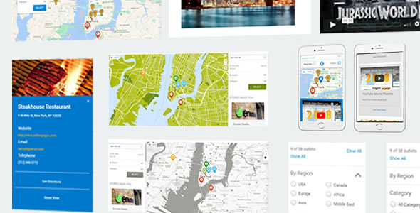 ✨Mega Store Locator Theme – Super Store Finder Nulled