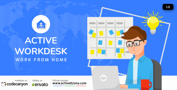 ✌Active Workdesk CMS Nulled