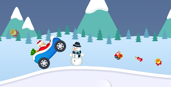 ✅ Snowy Road with AdMob and Leaderboard Nulled