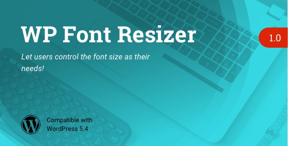 ✌WP Font Resizer | Text Resize WordPress Plugin Nulled