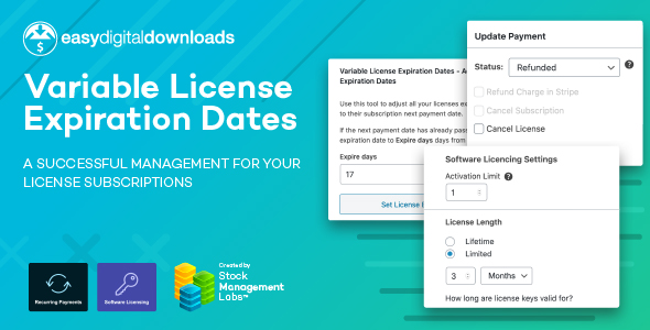 ✌EDD Variable License Expiration Dates Nulled