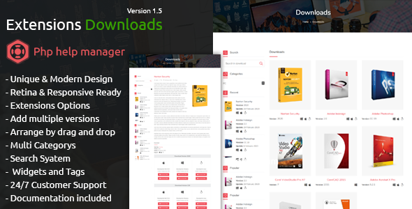 ✅ Extensions Downloads for PHM Nulled