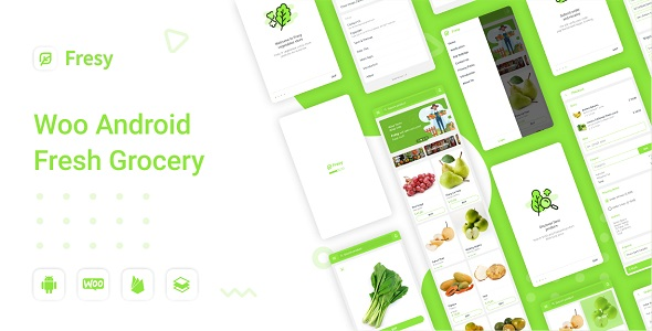 ✨Fresy – Woocommerce Android Fresh Grocery 1.0 Nulled