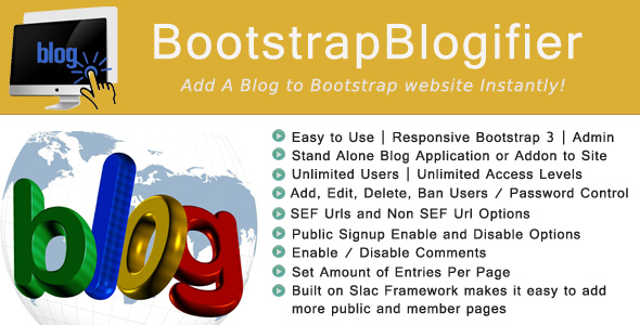 ✌Bootstrap Blogifier Nulled