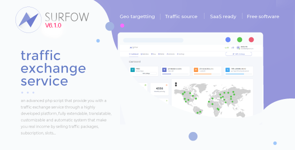 ✨Surfow V6.1 – Traffic Exchange Service Nulled