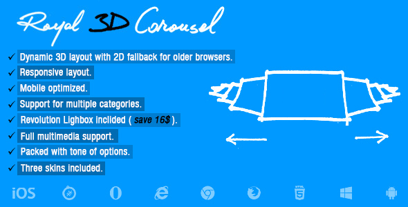 ✅ Royal 3D Carousel Nulled