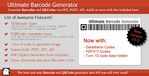 ✨Ultimate Barcode Generator Nulled