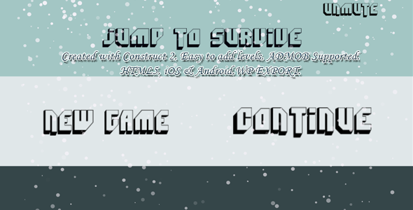 ✨Jump to Survive (super hard) — HTML5 Game, Mobile Vesion +Admob (Construct-2 CAPX) Nulled