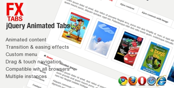 ✨Fx Tabs – Animated Sliding Tabs Nulled