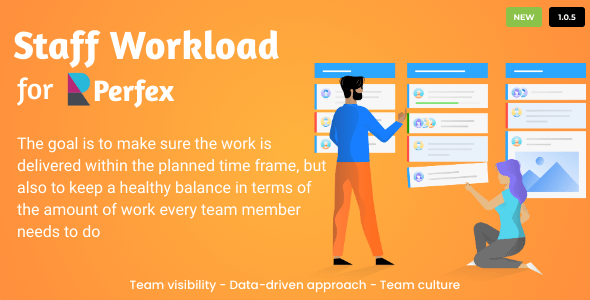 ✌Staff Workload for Perfex CRM Nulled