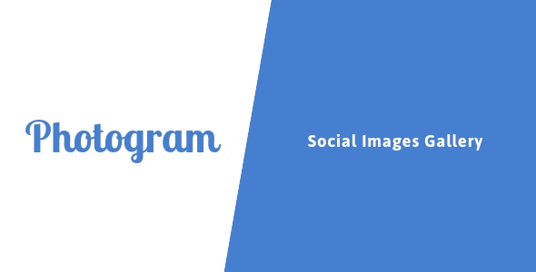 ✅ Photogram – Social Images Gallery Nulled
