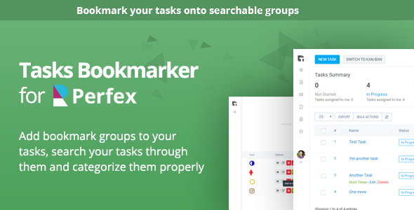 ✌Tasks Bookmark module for Perfex CRM Nulled