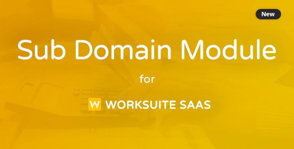 ✌Subdomain Module for Worksuite SAAS Nulled