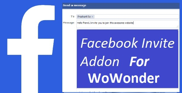 ✨Facebook Invite Addon For WoWonder Nulled