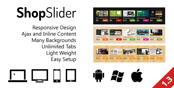 ✅ ShopSlider – Responsive Shop Slider with Tab Nulled