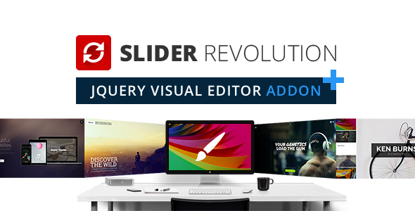 ✅ Slider Revolution jQuery Visual Editor Addon Nulled