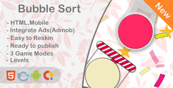 ✅ Ball Bubble Sort – Puzzle Game (Html5+Construct 3+Mobile) Nulled
