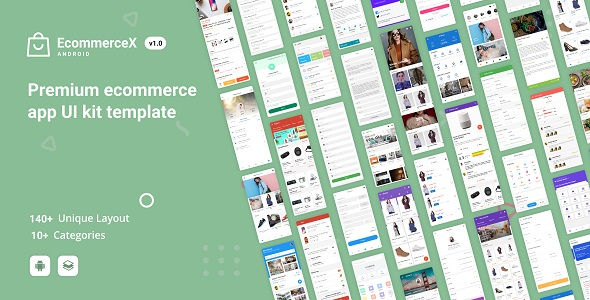 ✨EcommerceX – Premium Ecommerce App UI Kit Template 1.0 Nulled