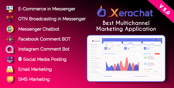 ✨XeroChat – Best Multichannel Marketing Application (SaaS Platform) Nulled
