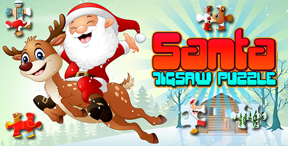 ✅ Santa Jigsaw Puzzle Game (CAPX and HTML5) Nulled