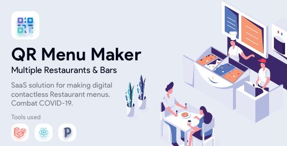 ✨QR Menu Maker – SaaS – Contactless restaurant menus Nulled
