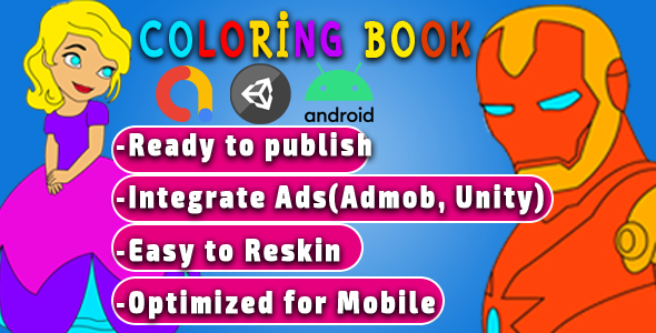 ✌Coloring Book for android mobile games Nulled