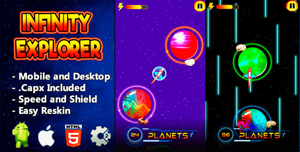 ✅ Infinity Explorer – Html5 Game and Mobile Nulled