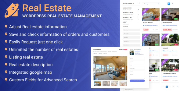 ✌WordPress Real Estate Management Nulled