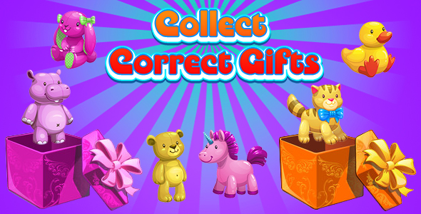 ✨Collect Correct Gifts (CAPX and HTML5) Christmas Game Nulled