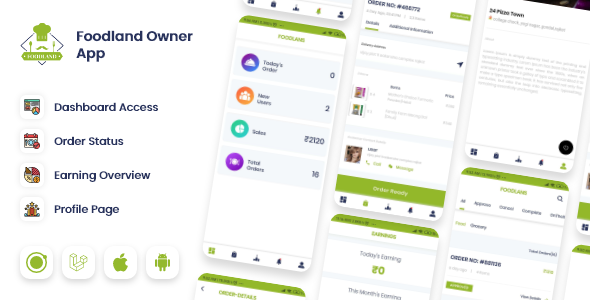 ✨Owner / Vendor for Groceries, Foods, Stores Ionic App Nulled