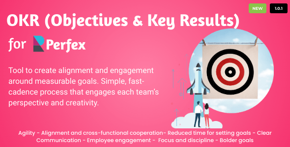 ✨OKRs – Objectives and Key Results for Perfex CRM Nulled